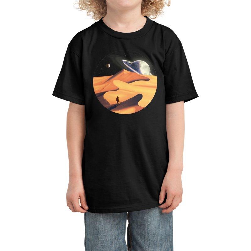 The Wanderer Kids T-Shirt by Threadless Artist Shop