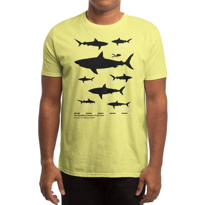 The Deadliest Sharks of All Time Men's T-Shirt by Threadless Artist Shop