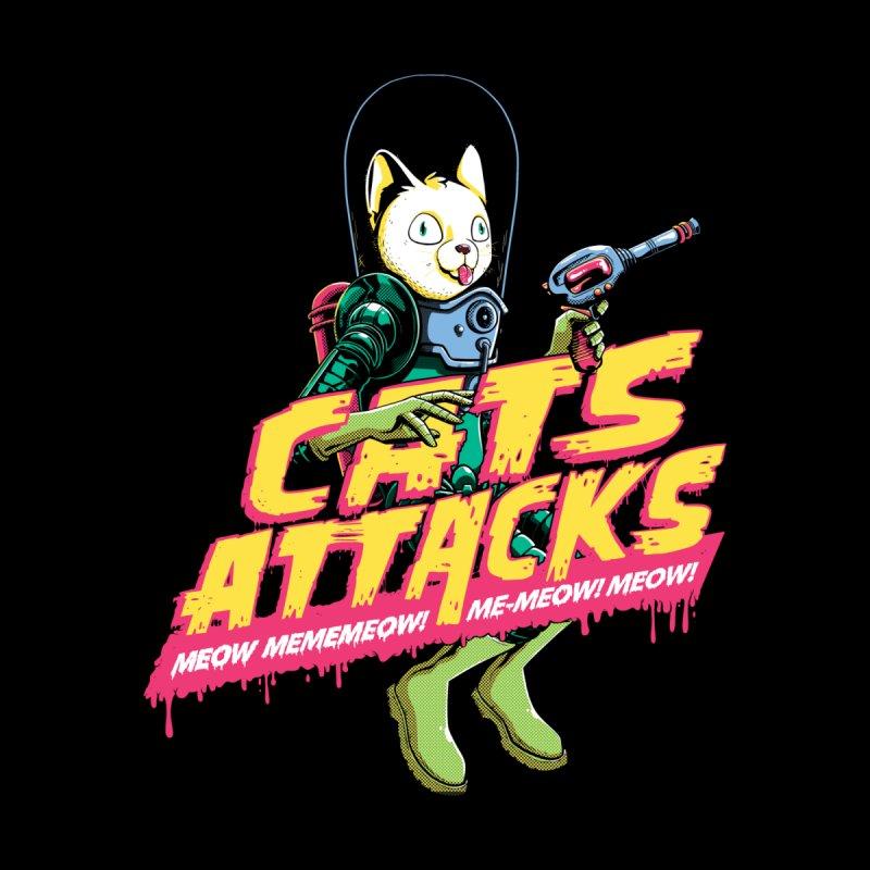 Cats Attacks Men's T-Shirt by Threadless Artist Shop