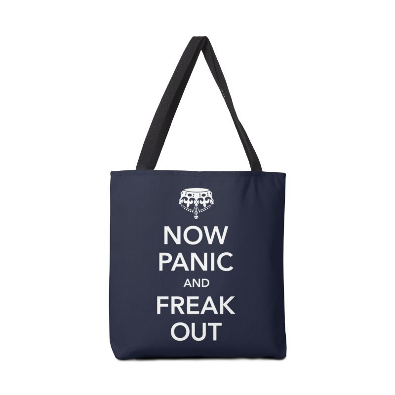 Now Panic and Freak Out Accessories Bag by Threadless Artist Shop