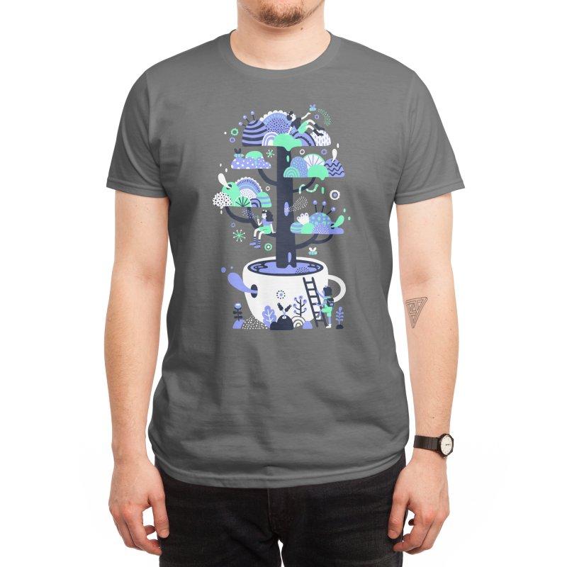 Up a tree cup Men's T-Shirt by Threadless Artist Shop