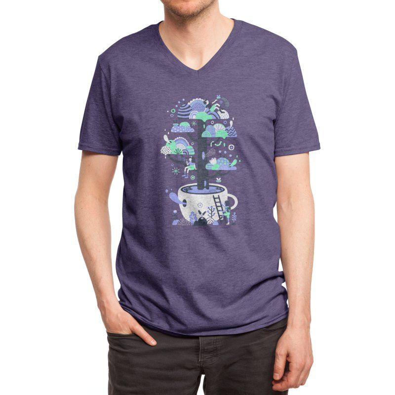 Up a tree cup Men's V-Neck by Threadless Artist Shop
