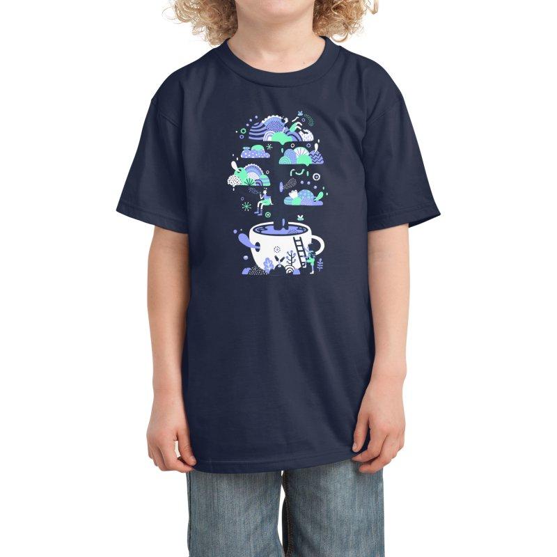 Up a tree cup Kids T-Shirt by Threadless Artist Shop