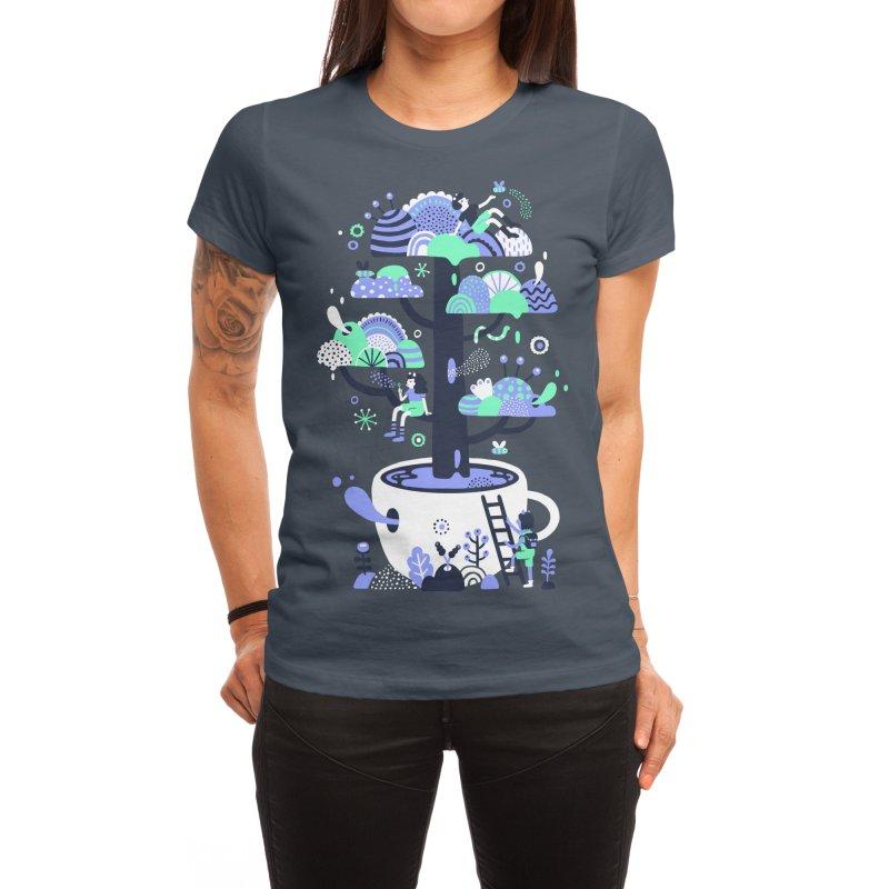 Up a tree cup Women's T-Shirt by Threadless Artist Shop
