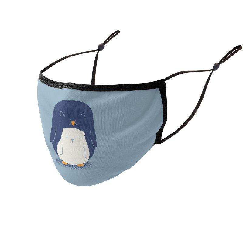 My Belly Is A Polar Bear Accessories Face Mask by Threadless Artist Shop
