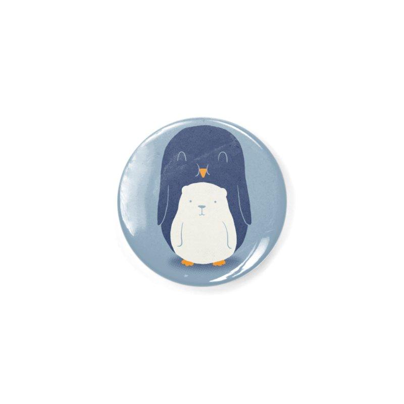 My Belly Is A Polar Bear Accessories Button by Threadless Artist Shop