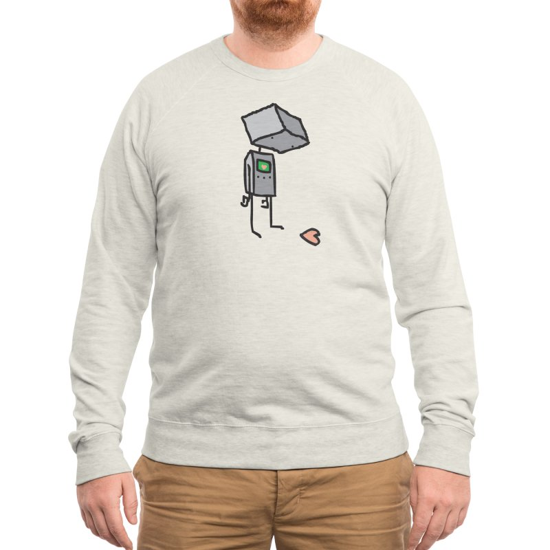 She Doesn't Even Realize Men's Sweatshirt by Threadless Artist Shop