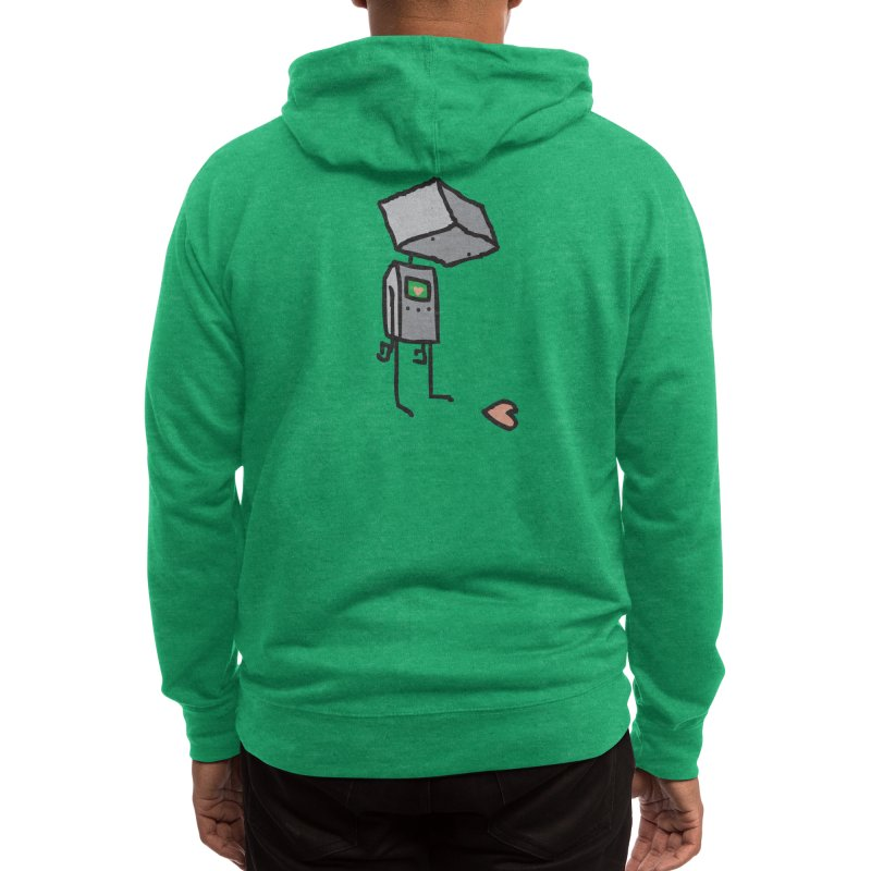 She Doesn't Even Realize Men's Zip-Up Hoody by Threadless Artist Shop