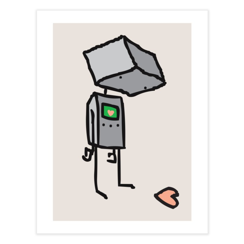 She Doesn't Even Realize Home Fine Art Print by Threadless Artist Shop