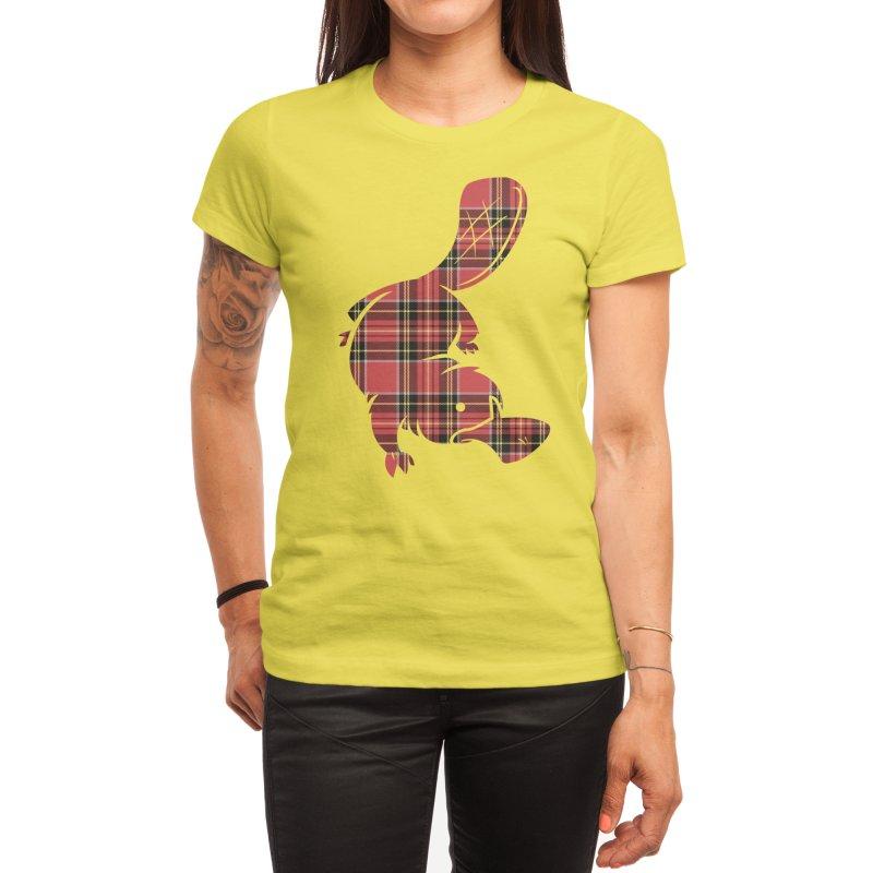 Plaid-apus Women's T-Shirt by Threadless Artist Shop