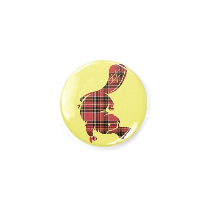 Plaid-apus Accessories Button by Threadless Artist Shop