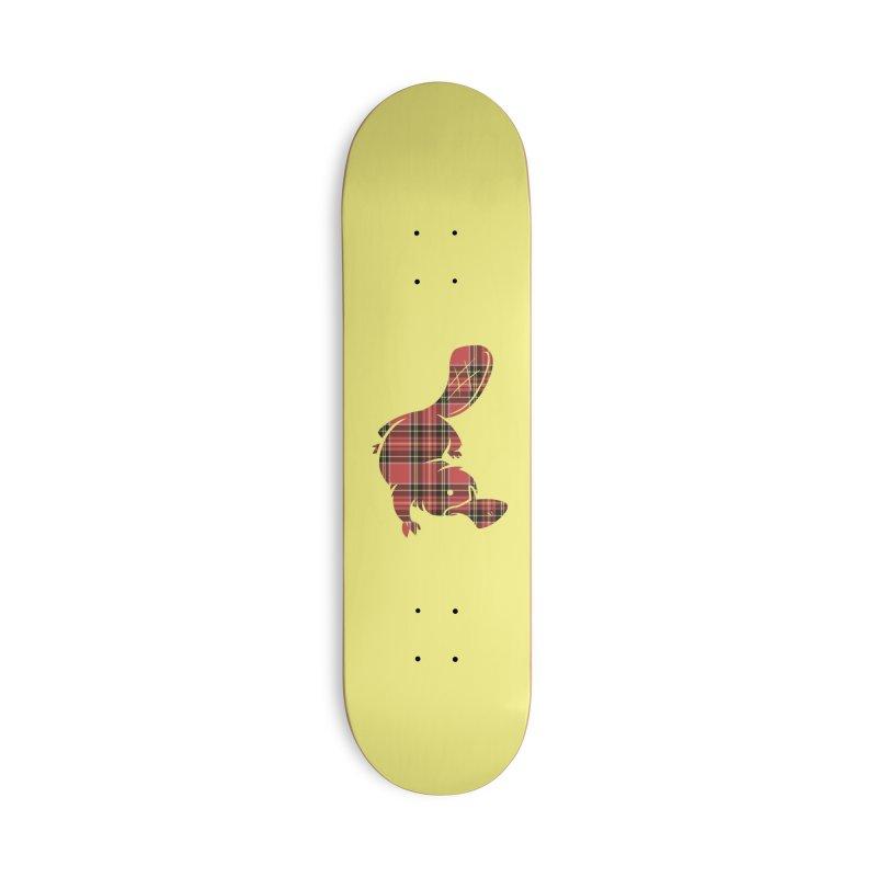 Plaid-apus Accessories Skateboard by Threadless Artist Shop