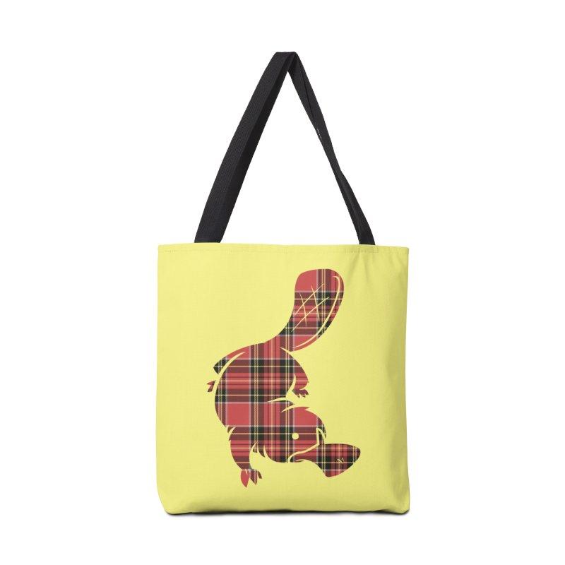 Plaid-apus Accessories Bag by Threadless Artist Shop