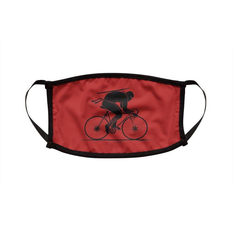 Ninja Rider Accessories Face Mask by Threadless Artist Shop