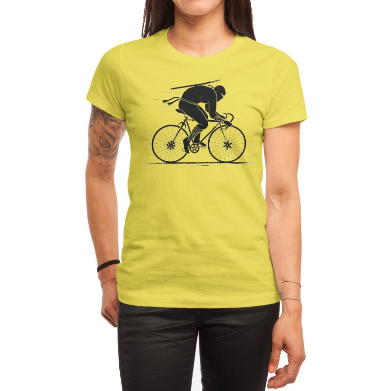 Ninja Rider Women's T-Shirt by Threadless Artist Shop