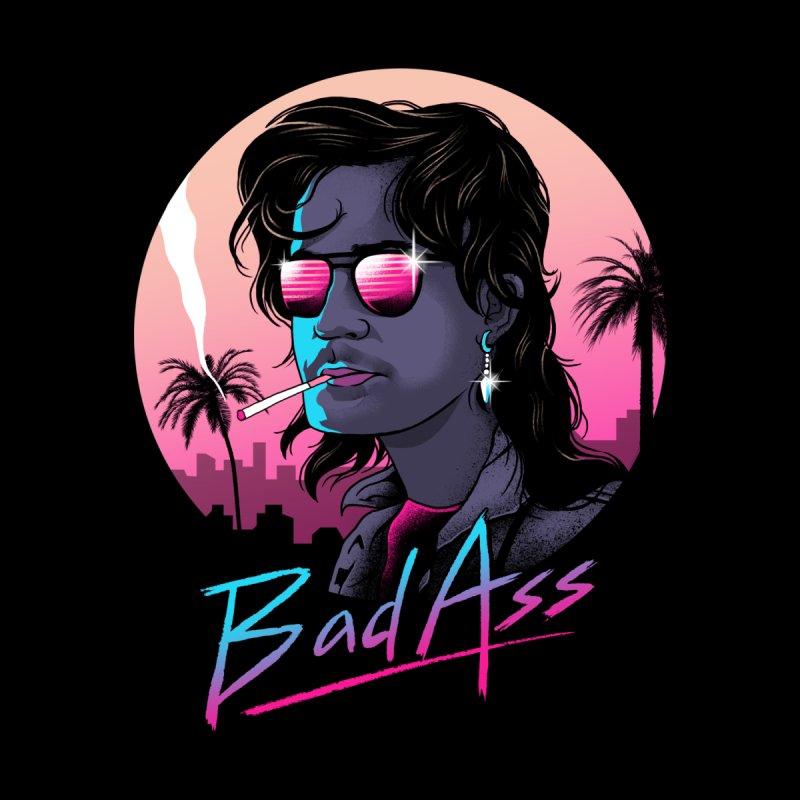 Bad Ass Women's Longsleeve T-Shirt by Threadless Artist Shop
