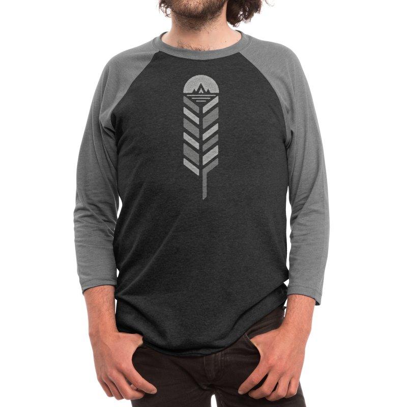 Feather Men's Longsleeve T-Shirt by Threadless Artist Shop