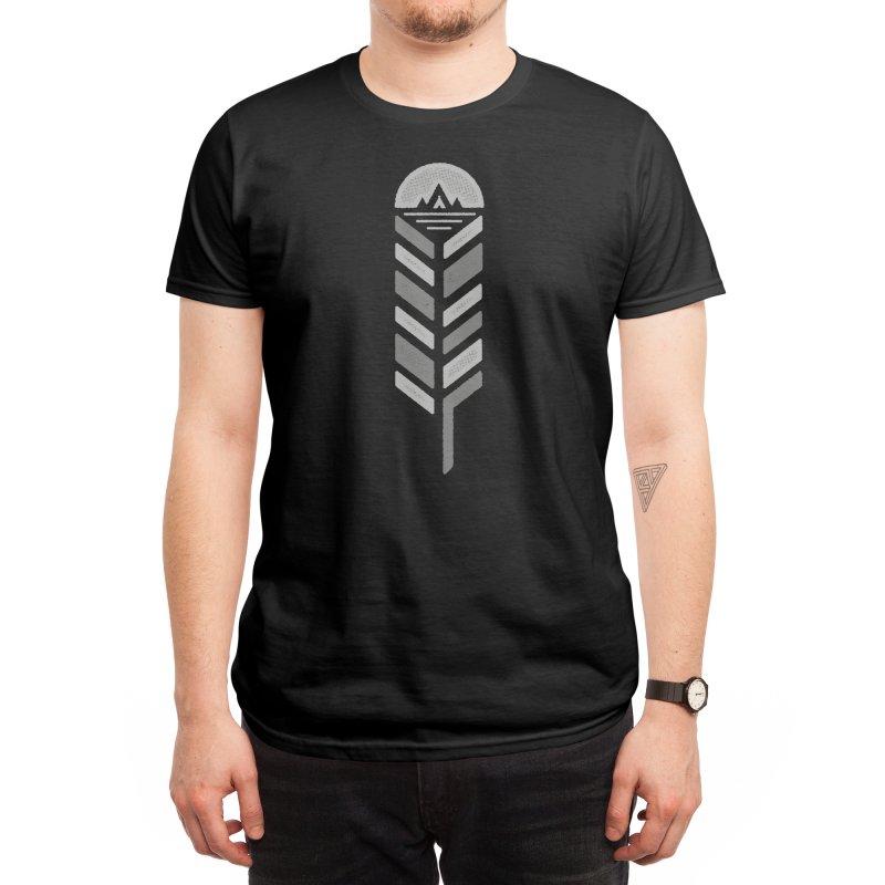 Feather Men's T-Shirt by Threadless Artist Shop