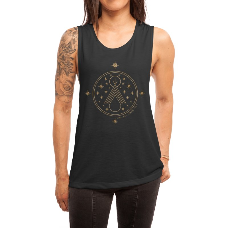 Stand With Standing Rock Women's Tank by Threadless Artist Shop