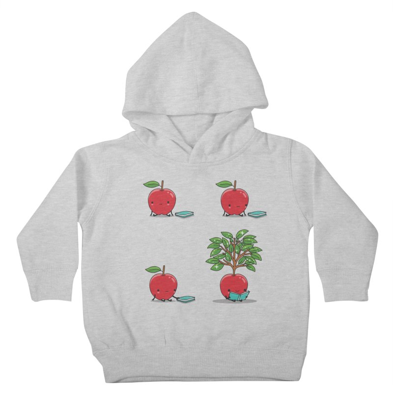 The power of reading Kids Toddler Pullover Hoody by Threadless Artist Shop