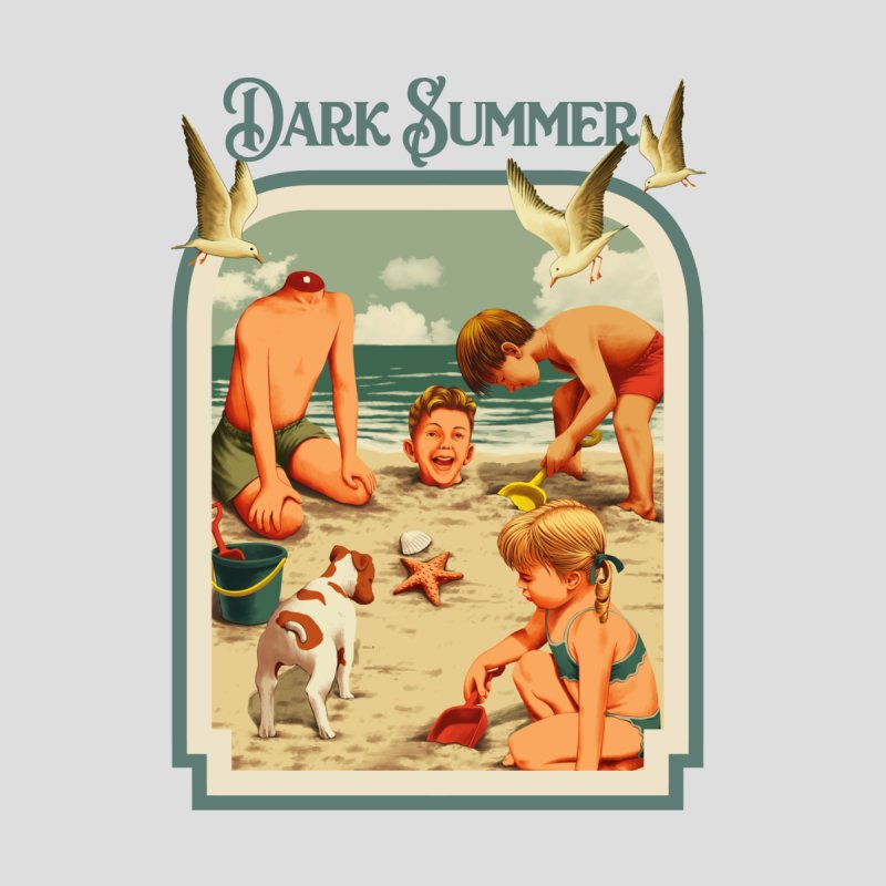 DARK SUMMER Men's T-Shirt by Threadless Artist Shop