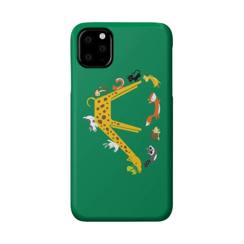 Giraffe Slide Accessories Phone Case by Threadless Artist Shop