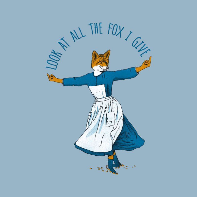 Look At All The Fox I Give Men's T-Shirt by Threadless Artist Shop