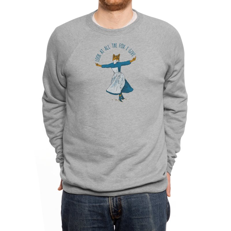 Look At All The Fox I Give Men's Sweatshirt by Threadless Artist Shop