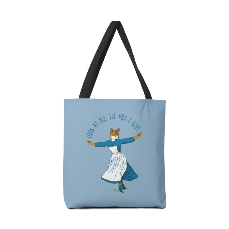 Look At All The Fox I Give Accessories Bag by Threadless Artist Shop
