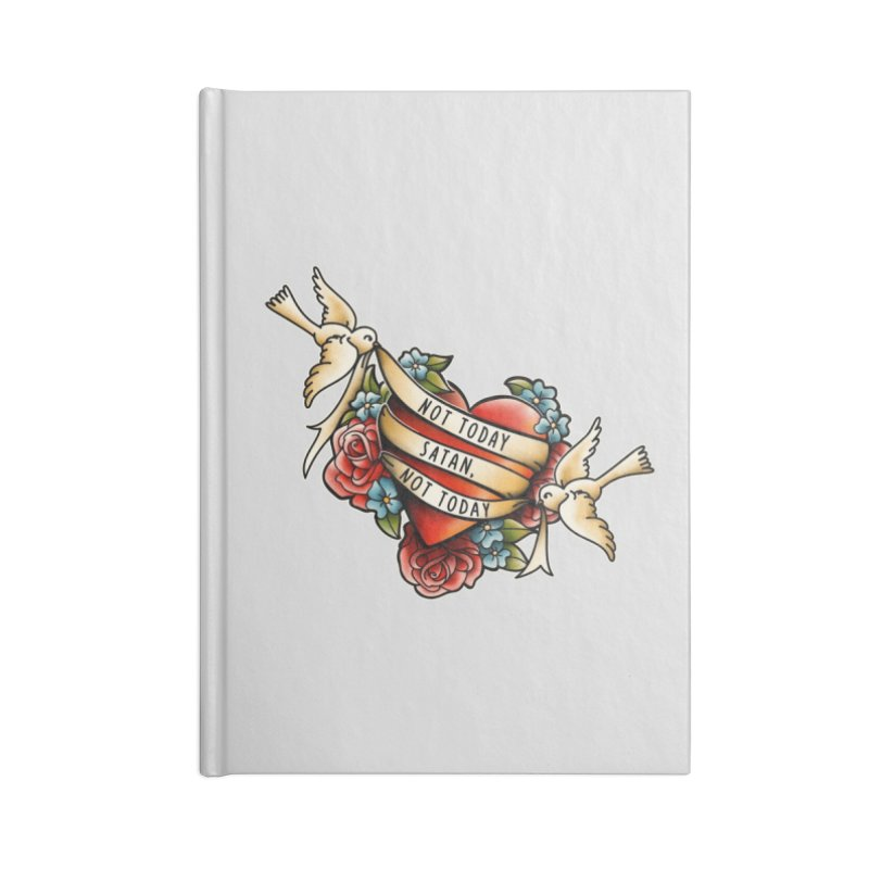 Not Today Satan Accessories Notebook by Threadless Artist Shop