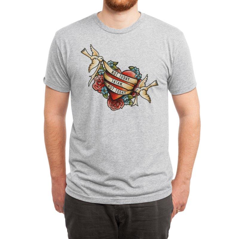 Not Today Satan Men's T-Shirt by Threadless Artist Shop
