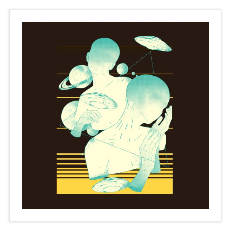 The Others Home Fine Art Print by Threadless Artist Shop