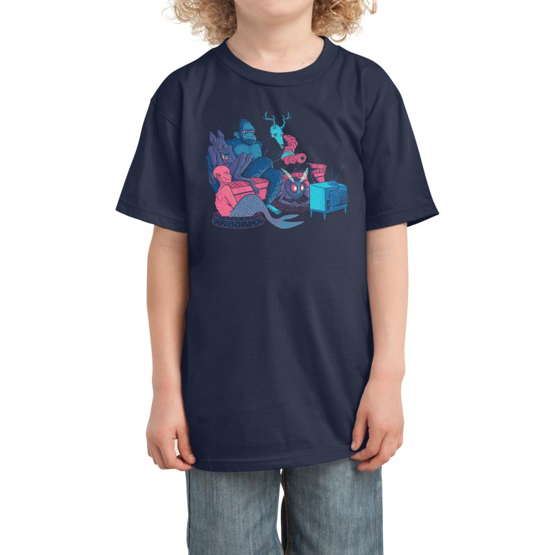 Tales From The Crypt(ids) Kids T-Shirt by Threadless Artist Shop