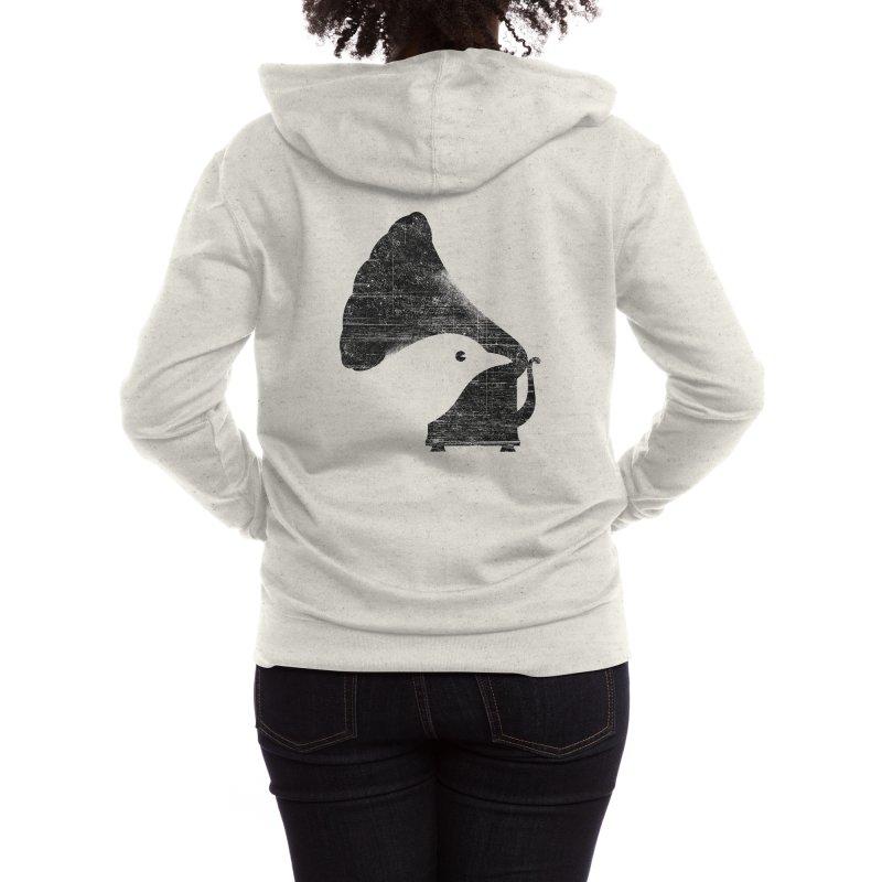 Songbird Women's Zip-Up Hoody by Threadless Artist Shop