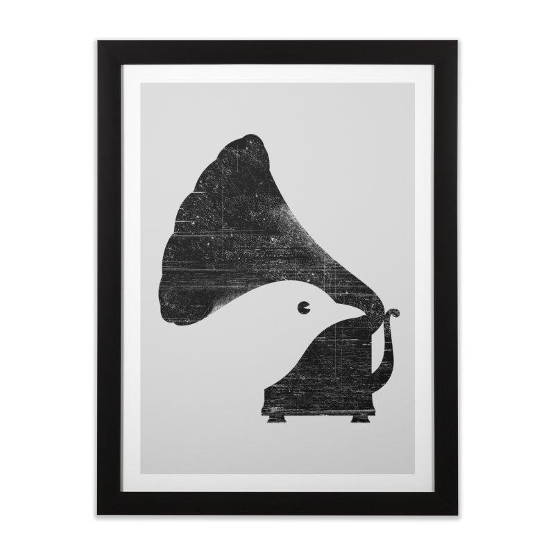 Songbird Home Framed Fine Art Print by Threadless Artist Shop