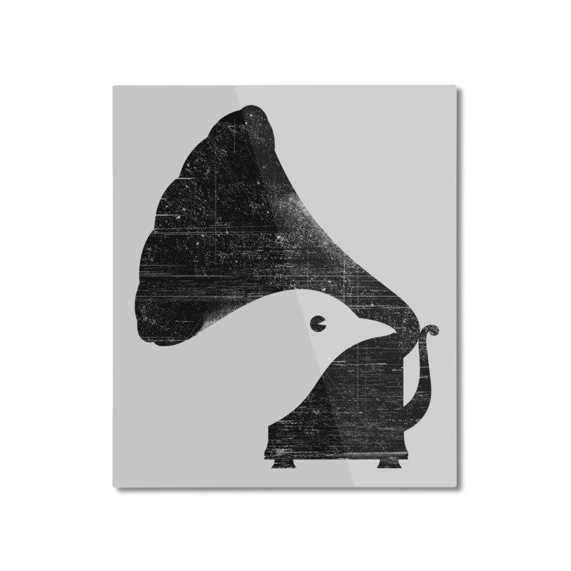 Songbird Home Mounted Aluminum Print by Threadless Artist Shop