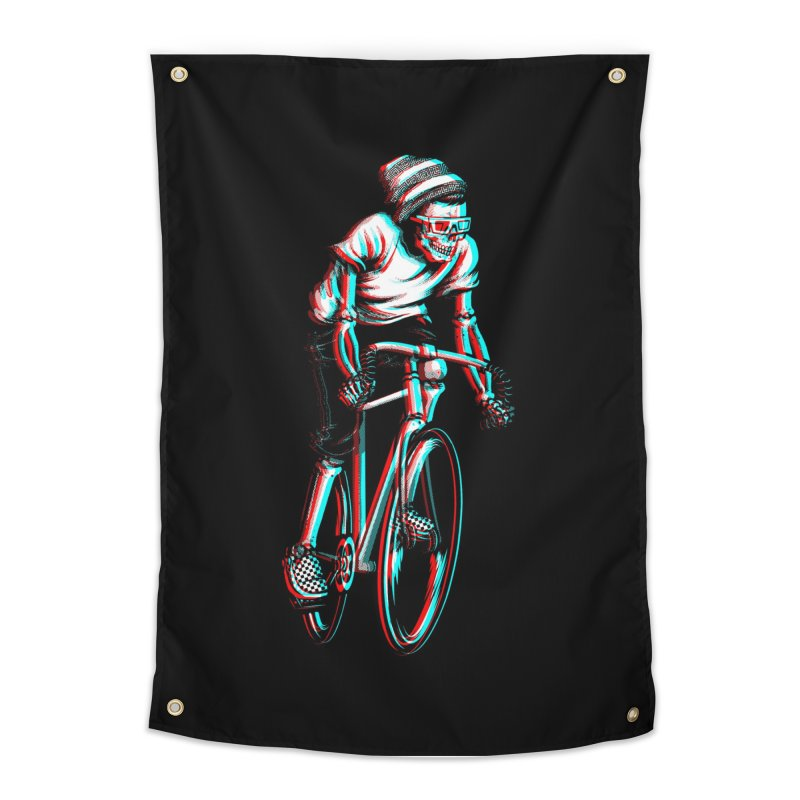 RIDE IN 3D Home Tapestry by Threadless Artist Shop