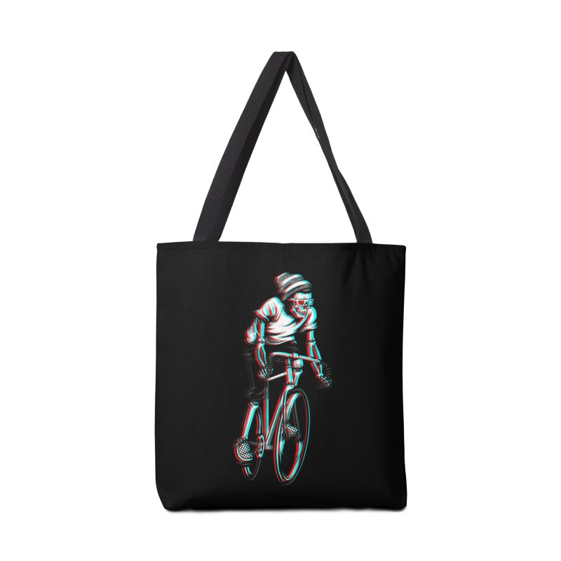 RIDE IN 3D Accessories Bag by Threadless Artist Shop