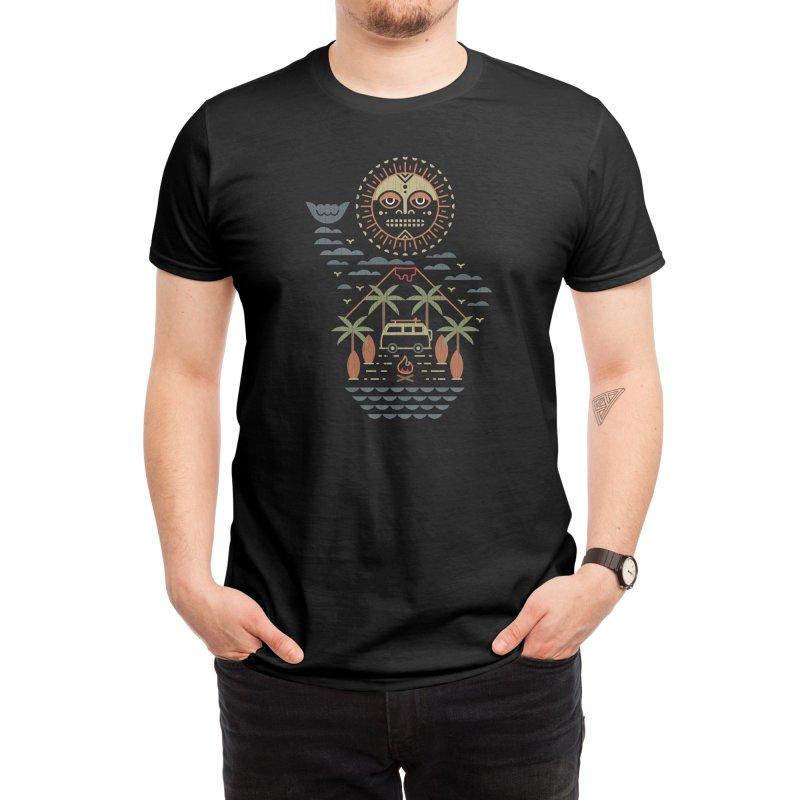 Freaky Tiki Men's T-Shirt by Threadless Artist Shop