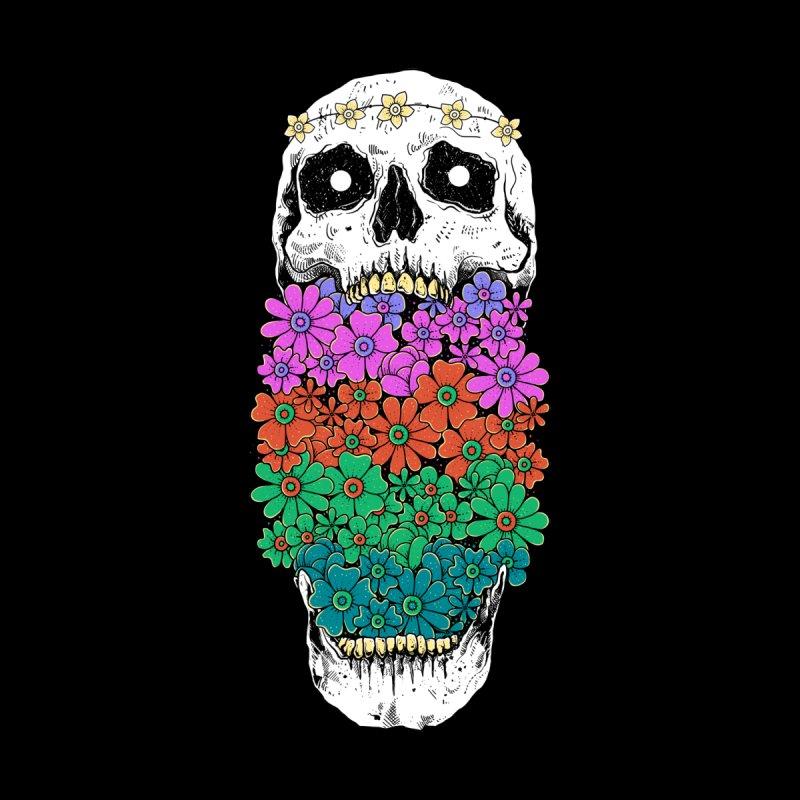 Skull Anatomy of Hippie Men's T-Shirt by Threadless Artist Shop