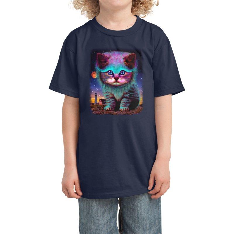 WAITING FOR MY FISH Kids T-Shirt by Threadless Artist Shop