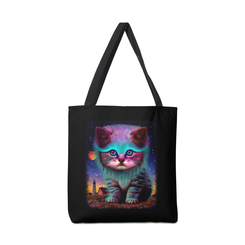 WAITING FOR MY FISH Accessories Bag by Threadless Artist Shop