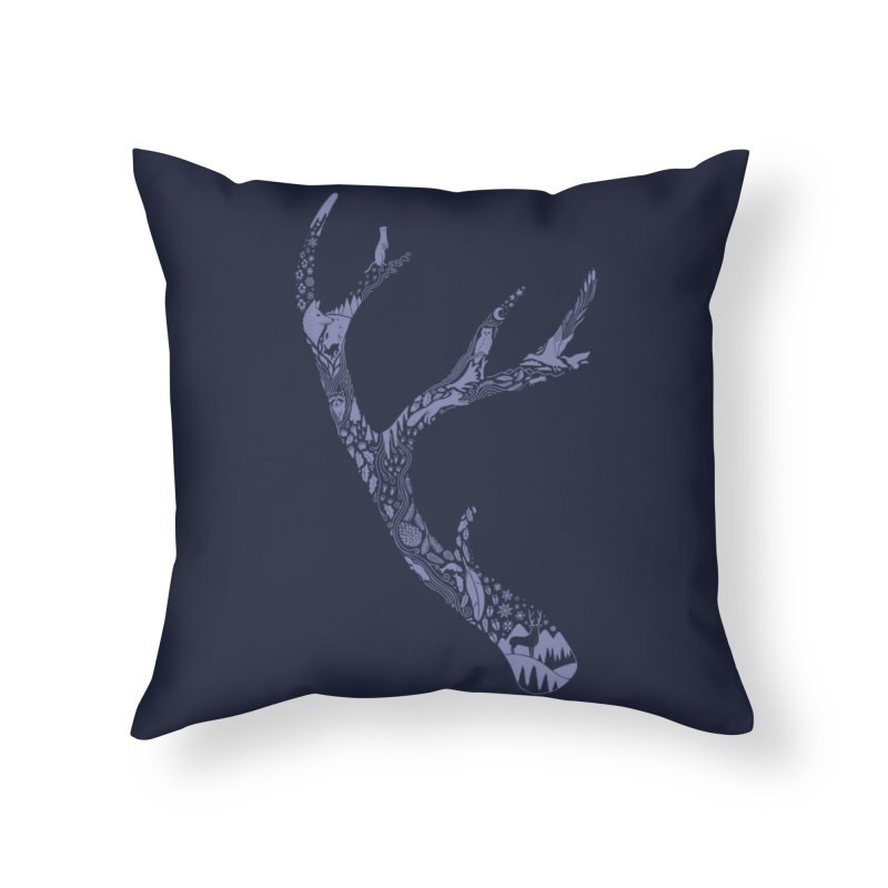 Tracks and Signs Home Throw Pillow by Threadless Artist Shop