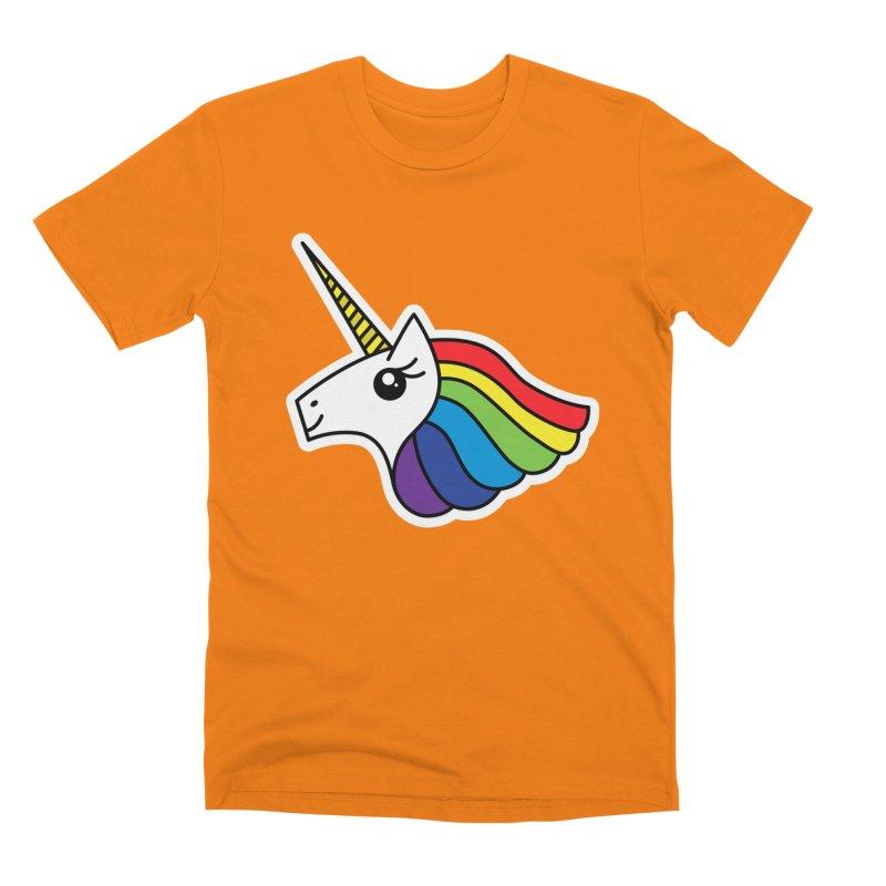 Team Rainbow Unicorn Men's T-Shirt by Threadless Artist Shop