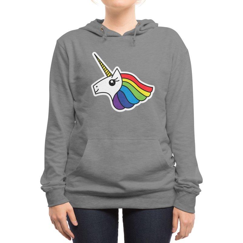 Team Rainbow Unicorn Women's Pullover Hoody by Threadless Artist Shop