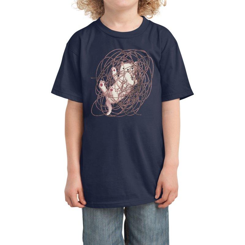 Catastrophe - Aaron Thong Kids T-Shirt by Threadless Artist Shop