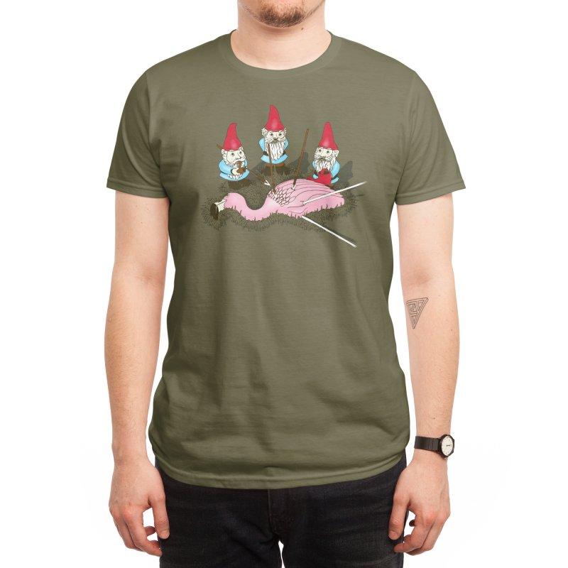 Demise of Mr. Flamingo Men's T-Shirt by Threadless Artist Shop