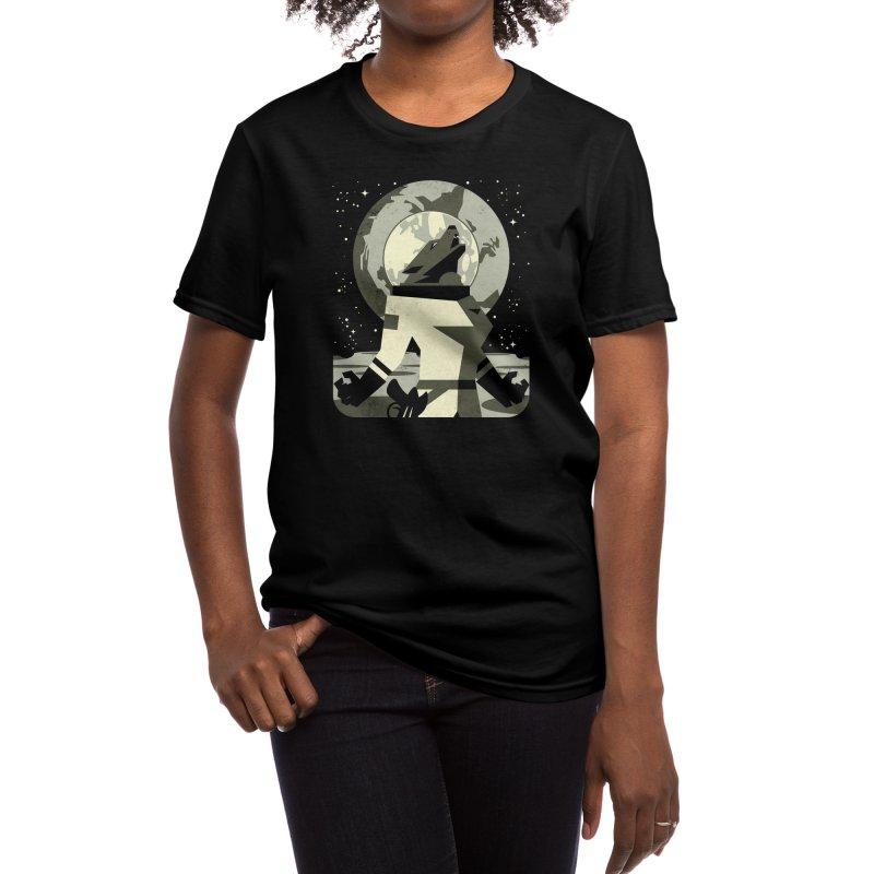 Werewolf in the Moon Women's T-Shirt by Threadless Artist Shop