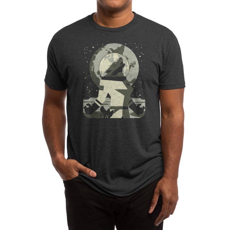 Werewolf in the Moon Men's T-Shirt by Threadless Artist Shop