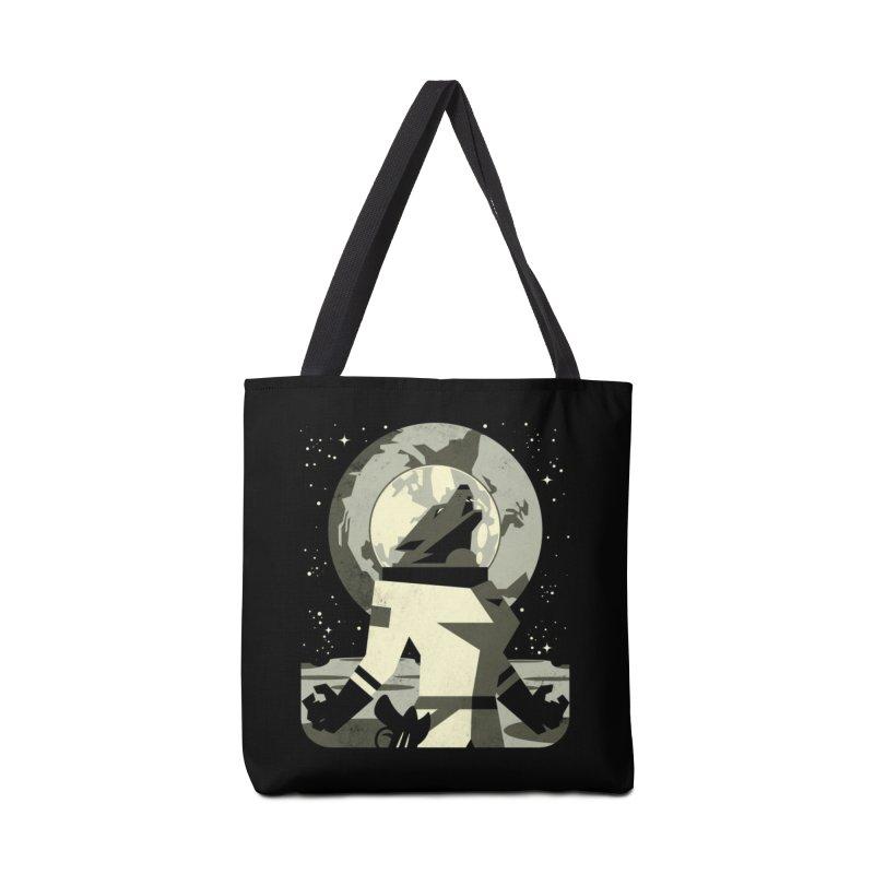 Werewolf in the Moon Accessories Bag by Threadless Artist Shop